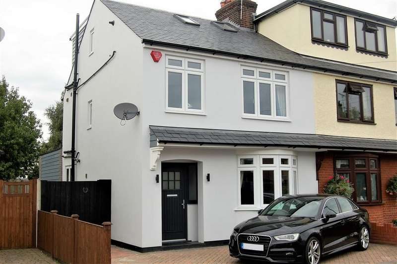 4 Bedrooms Semi Detached House for sale in GOLDLAY AVENUE, CHELMSFORD CM2