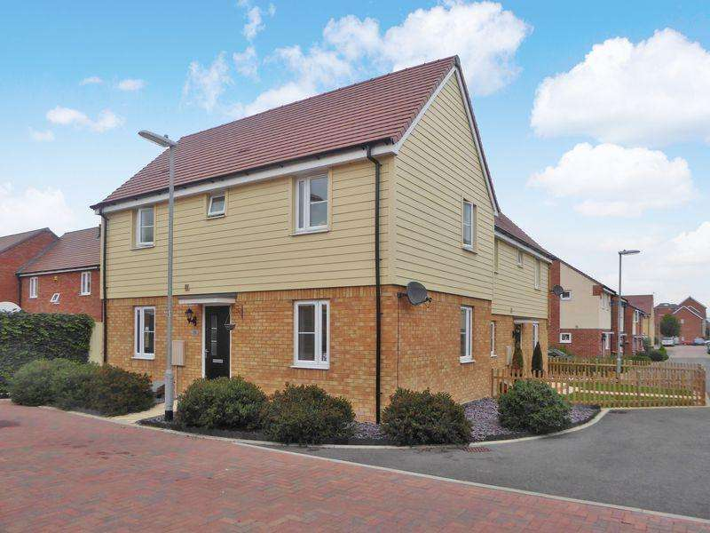 3 Bedrooms Semi Detached House for sale in Wolseley Drive, Dunstable