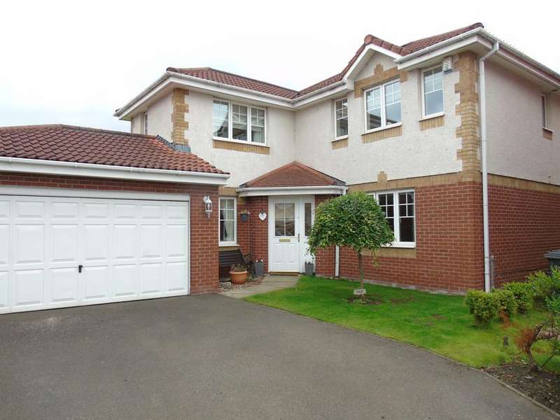4 Bedrooms Detached House for sale in Balfron Drive, Carnbroe, Coatbridge, North Lanarkshire, ML5