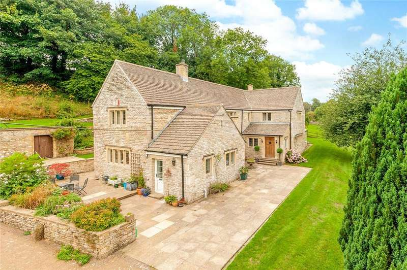 4 Bedrooms Detached House for sale in Lower North Wraxall, Wiltshire, SN14