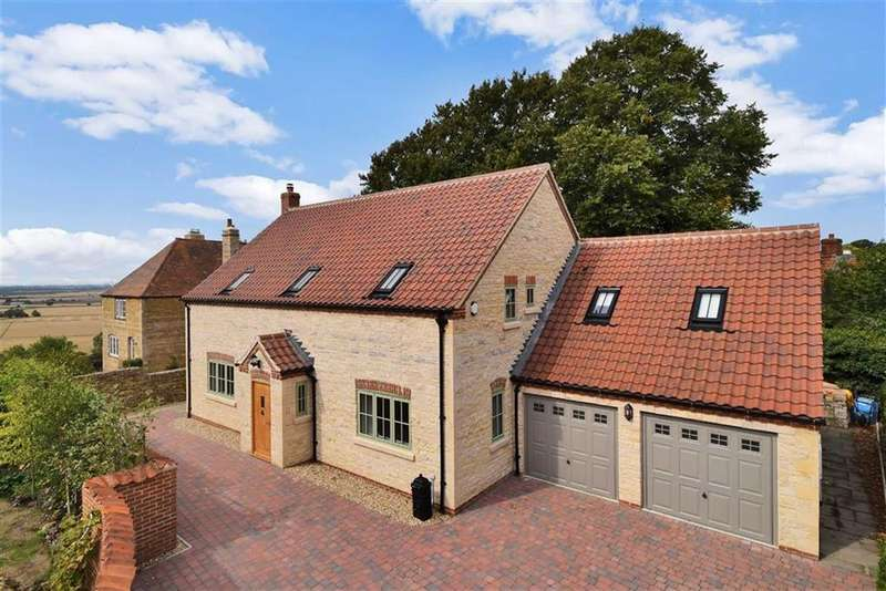 4 Bedrooms Detached House for sale in Vicarage Lane, Wellingore, Lincoln, Lincolnshire