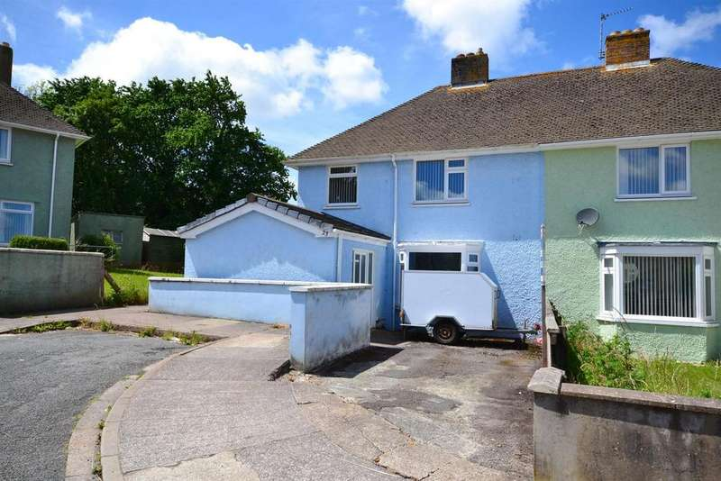 3 Bedrooms Semi Detached House for sale in St. Peters Road, Pembroke Dock