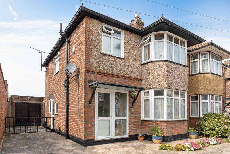 3 Bedrooms Semi Detached House for sale in Northview Road, Luton