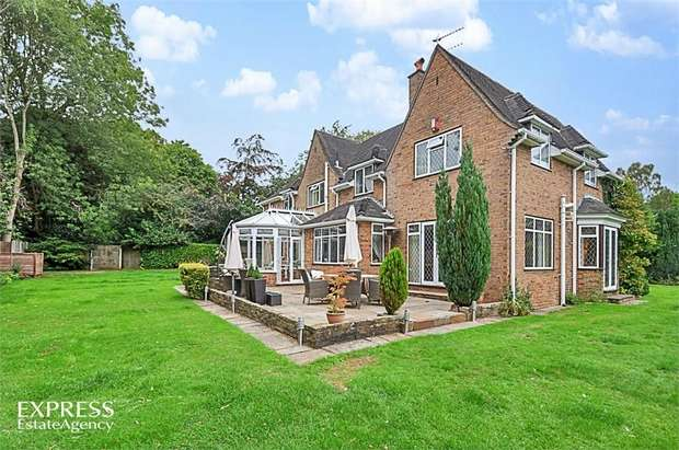 5 Bedrooms Detached House for sale in Longton Road, Barlaston, Stoke-on-Trent, Staffordshire