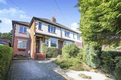 3 Bedrooms Semi Detached House for sale in Strines Road, Marple, Stockport, Cheshire