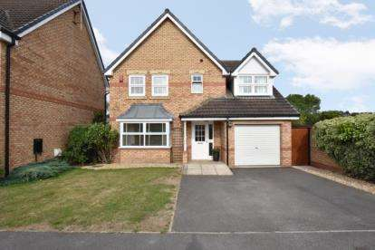 4 Bedrooms Detached House for sale in Shire Oak Drive, Elsecar, Barnsley, South Yorkshire