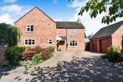 4 Bedrooms Detached House for sale in Barrons Court, Elvaston, Thulston, Derby