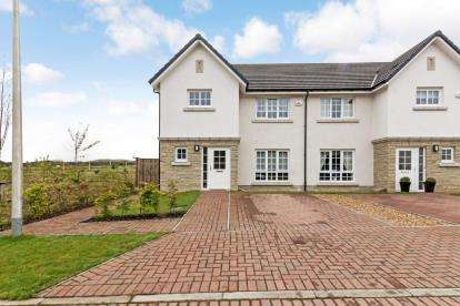3 Bedrooms Semi Detached House for sale in West Cairn View, Murieston