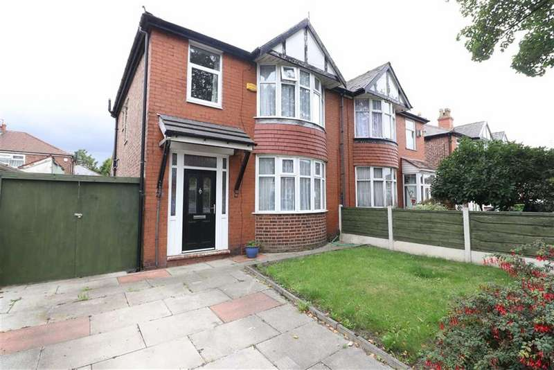 3 Bedrooms Semi Detached House for sale in Woodstock Road, Firswood, Trafford, M16