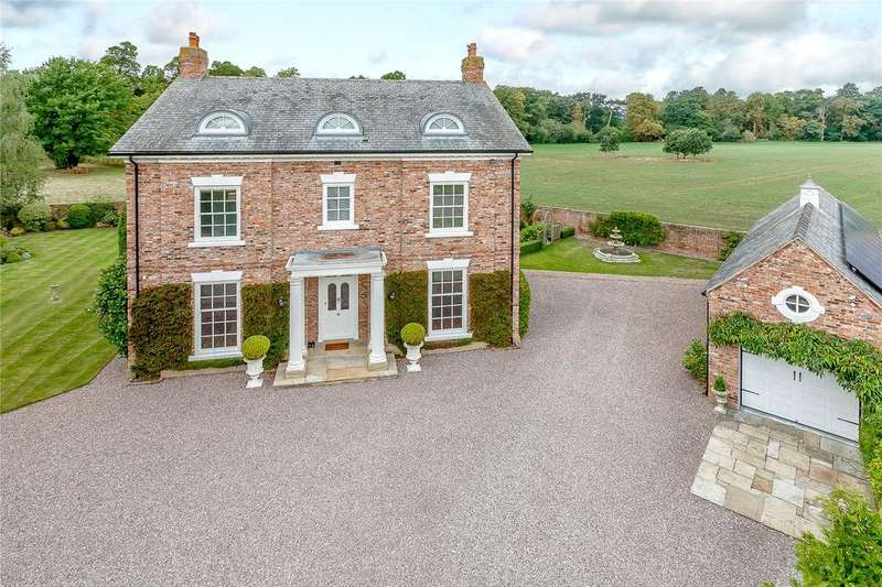 5 Bedrooms Detached House for sale in Darland Lane, Lavister, Nr Chester