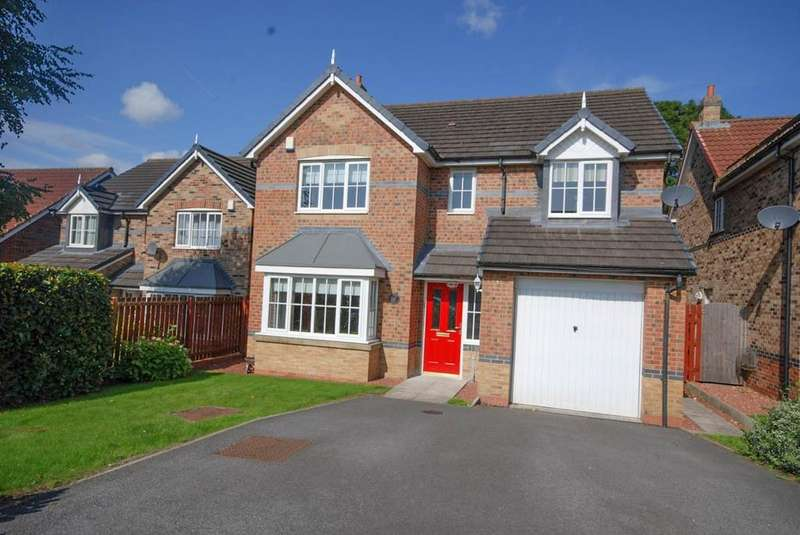 4 Bedrooms Detached House for sale in Woodlands, Ouston