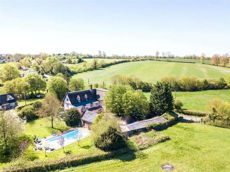 6 Bedrooms Detached House for sale in Shop Hill, Wickhambrook, Suffolk, CB8