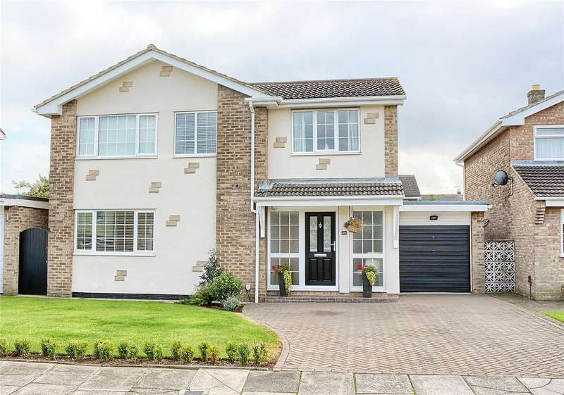 4 Bedrooms Detached House for sale in Whingroves, Thornaby
