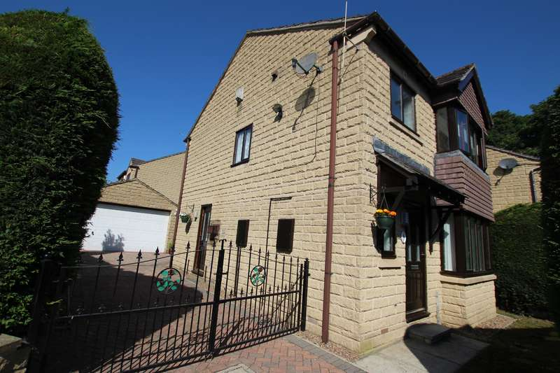 3 Bedrooms Detached House for sale in Bracken Hill Drive, Bradford, BD7 4RS
