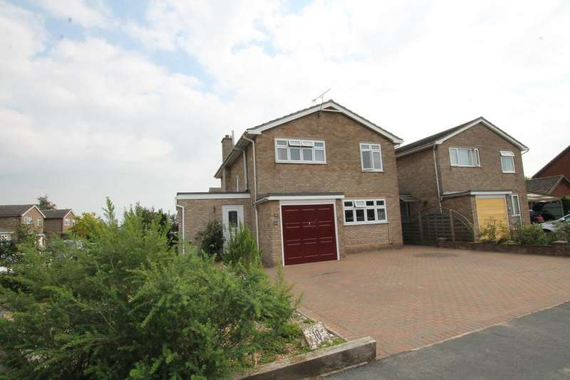 4 Bedrooms Detached House for sale in Meadowlands, Kirton, Ipswich IP10