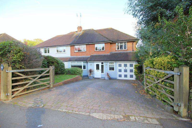 4 Bedrooms Semi Detached House for sale in Knoll Road, Sidcup, DA14 4QU