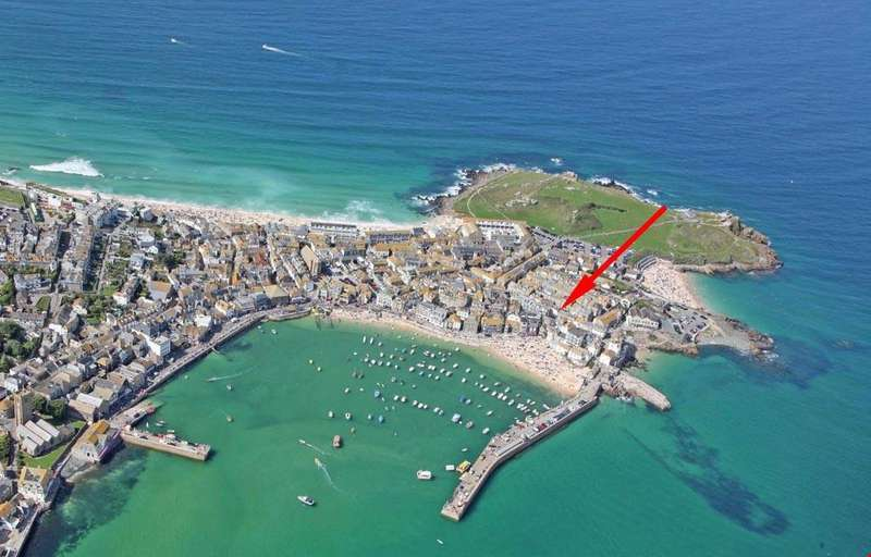 2 Bedrooms Apartment Flat for sale in St Ives, Cornwall, TR26