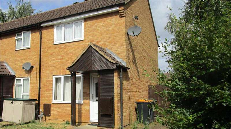3 Bedrooms End Of Terrace House for sale in St. Leonards Street, Bedford
