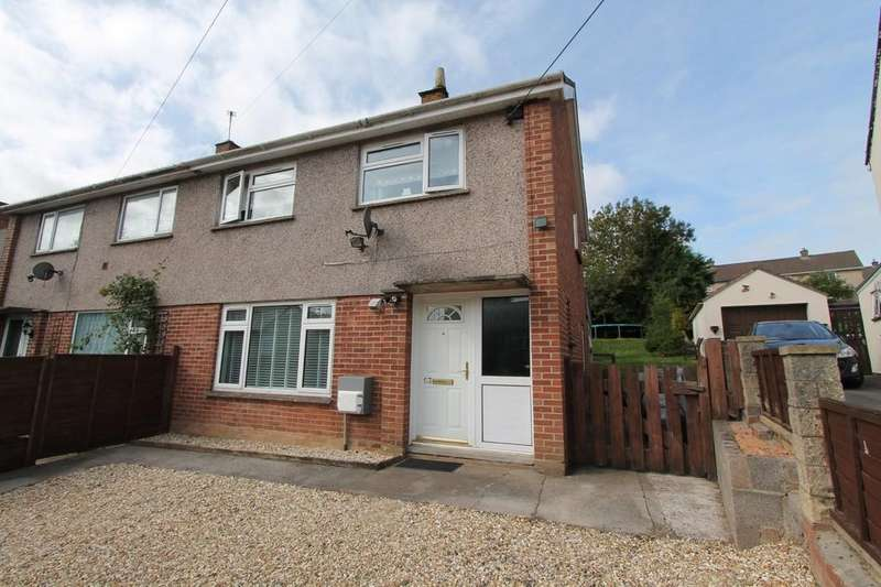 3 Bedrooms Semi Detached House for sale in Rogers Close, Clutton, Bristol
