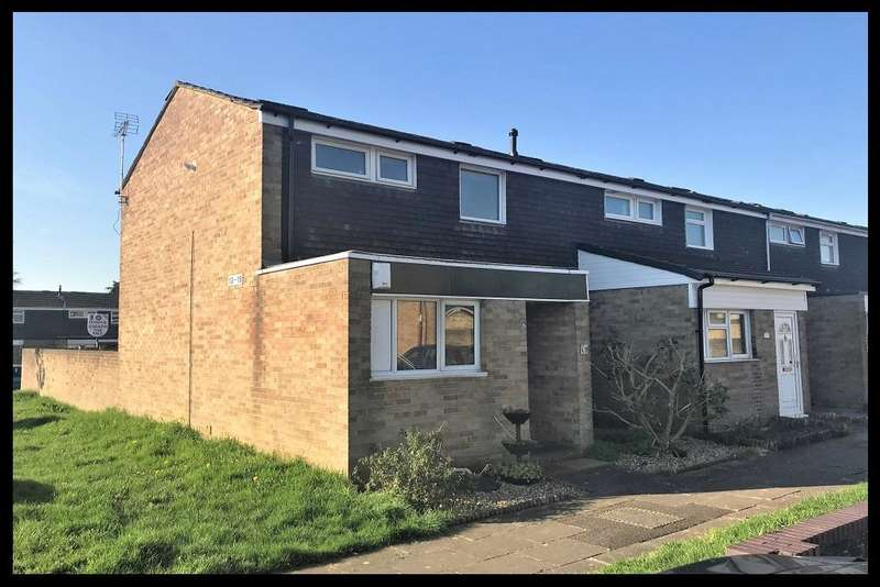 2 Bedrooms End Of Terrace House for sale in St Martins Close, Lordshill, Southampton SO16