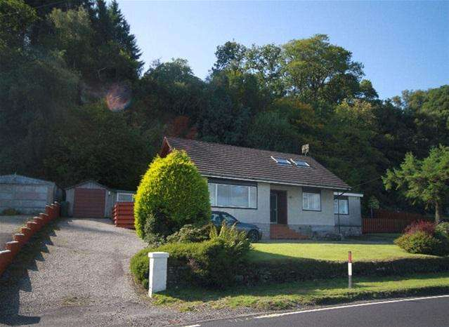 4 Bedrooms Detached Bungalow for sale in Tigh na Creag, Tarbert Road, Ardrishaig