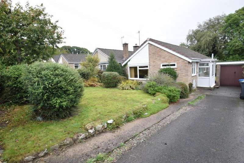 2 Bedrooms Detached Bungalow for sale in Yokecliffe Cres, Wirksworth
