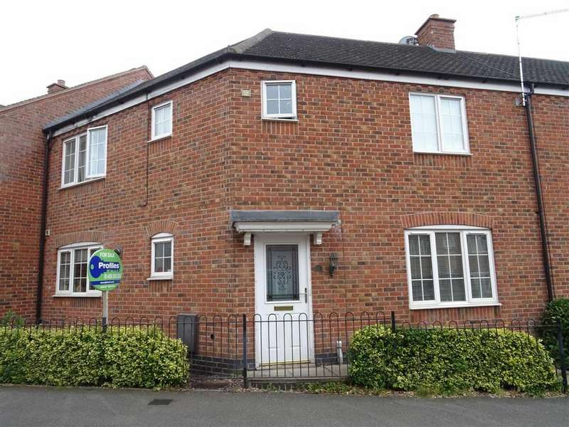 3 Bedrooms Town House for sale in Berrywell Drive, Barwell