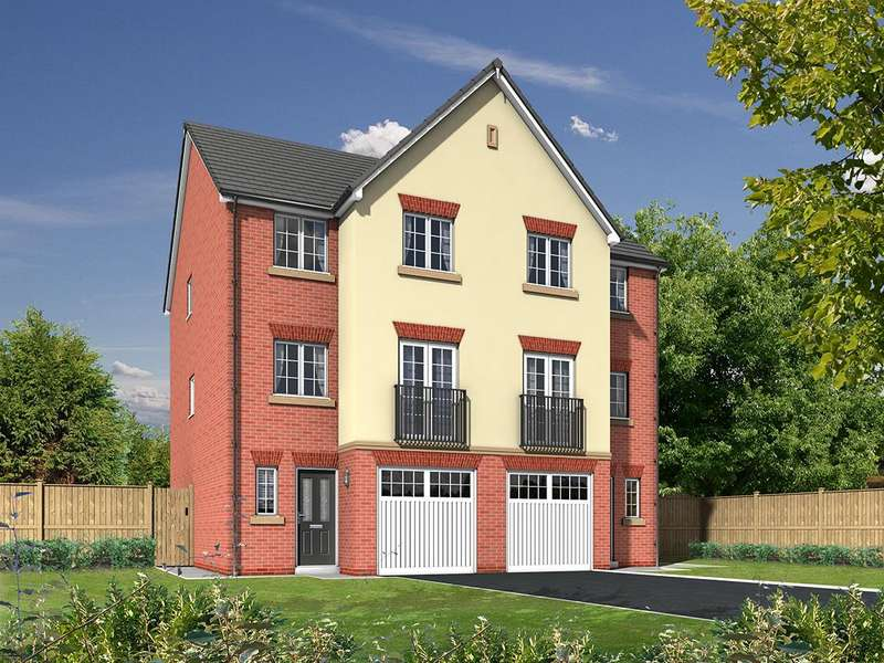 4 Bedrooms Town House for sale in Almond Brook Road, Standish, Wigan