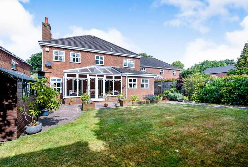 4 Bedrooms Detached House for sale in Sandy Lane, Shoal Hill, Cannock