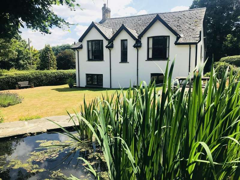 4 Bedrooms Detached House for sale in Llanynis, Builth Wells, LD2