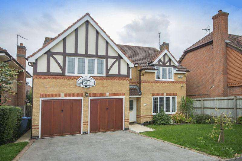 5 Bedrooms Detached House for sale in Maize Close, Heatherton Village