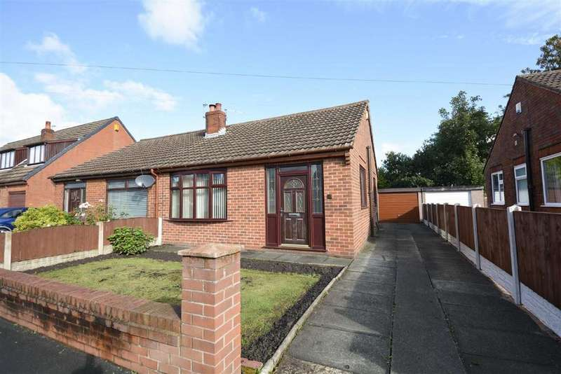 2 Bedrooms Semi Detached Bungalow for sale in Coppice Drive, Hawkley Hall, Wigan, WN3