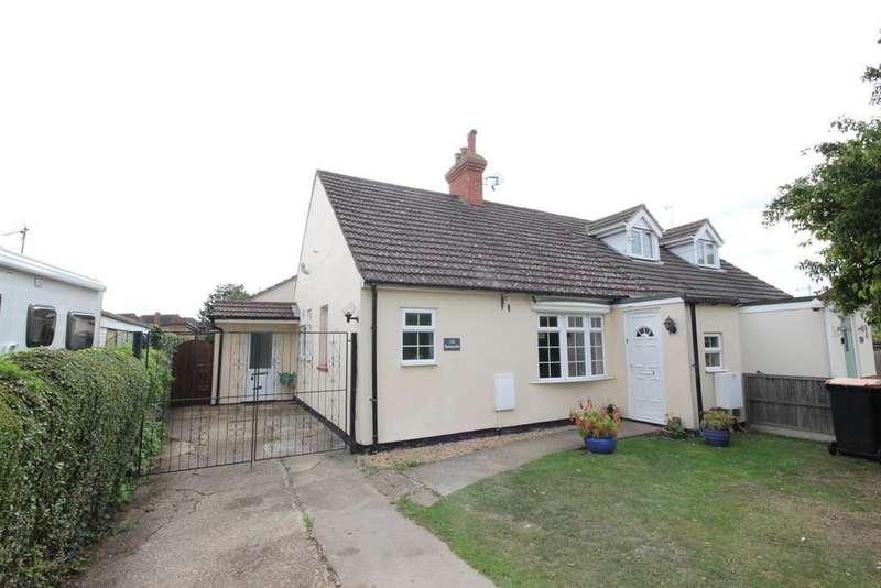 3 Bedrooms Semi Detached Bungalow for sale in Stagsden Road, Bromham