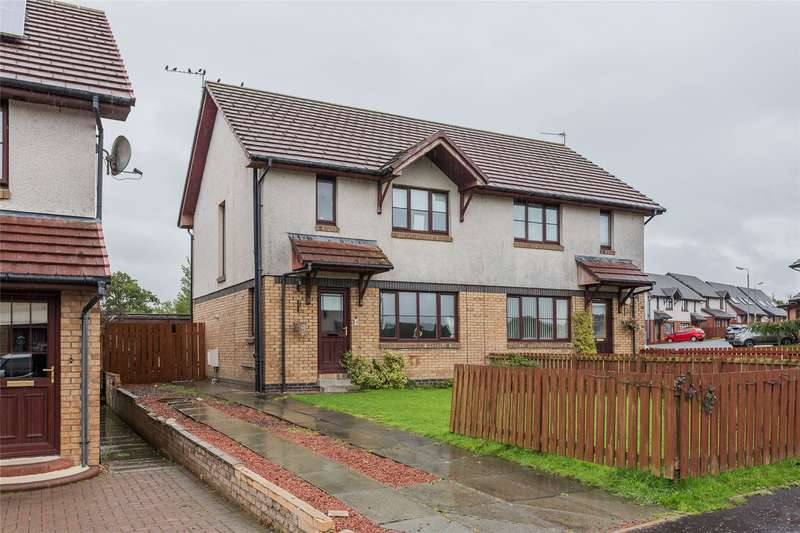 3 Bedrooms Semi Detached House for sale in Buntens Close, Cumnock, East Ayrshire, KA18