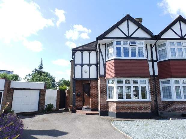 3 Bedrooms Semi Detached House for sale in Austyn Gardens, Surbiton