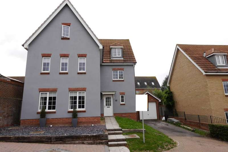 5 Bedrooms Detached House for sale in Stour Close, Harwich