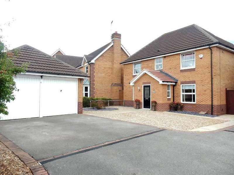 4 Bedrooms Detached House for sale in Red Kite Close, Gateford, Worksop