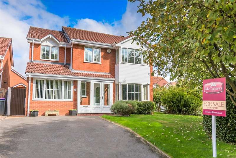 6 Bedrooms Detached House for sale in Teece Drive, Priorslee, Telford