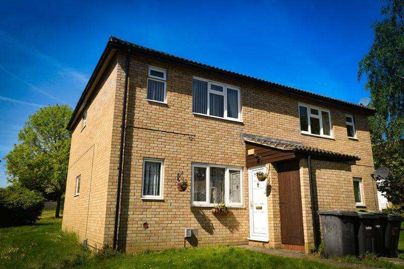 1 Bedroom Maisonette Flat for sale in Repton Close, Luton