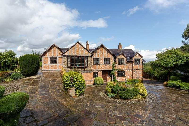 5 Bedrooms Detached House for sale in Bawsgate Cottage, Whitegate, CW8 2BH