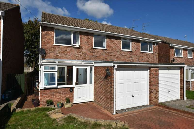 3 Bedrooms Semi Detached House for sale in Corfe Close, Nailsea, Bristol, North Somerset