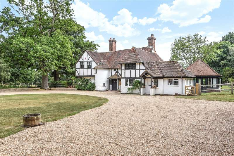 4 Bedrooms Detached House for sale in Lane End Common, North Chailey