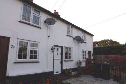 2 Bedrooms Terraced House for sale in High Street, Broom, Biggleswade, Bedfordshire