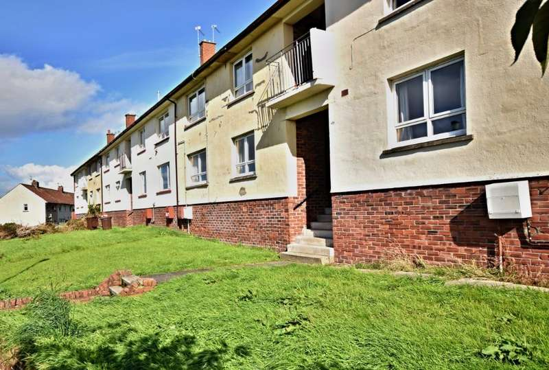 2 Bedrooms Flat for sale in Anderson Cresent , Ayr, South Ayrshire , KA7 3RL