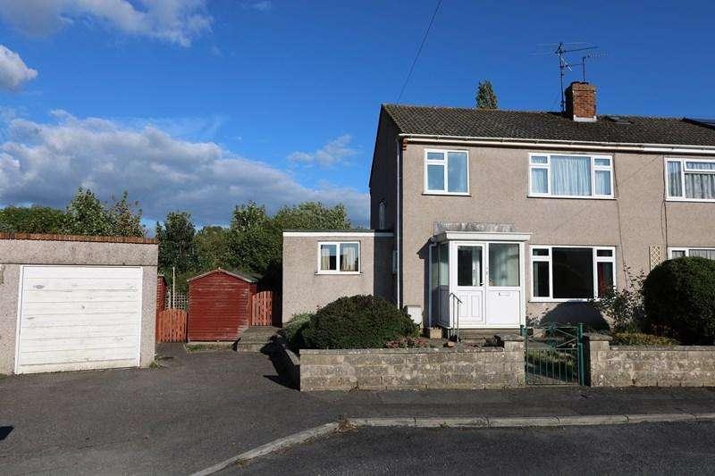 3 Bedrooms Semi Detached House for sale in Camerton Close, Saltford, Bristol