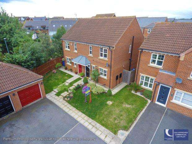 3 Bedrooms Semi Detached House for sale in GOSWICK WAY, EAST SHORE VILLAGE, SEAHAM DISTRICT