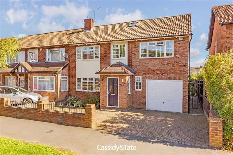 5 Bedrooms Semi Detached House for sale in The Ridgeway, St Albans, Hertfordshire
