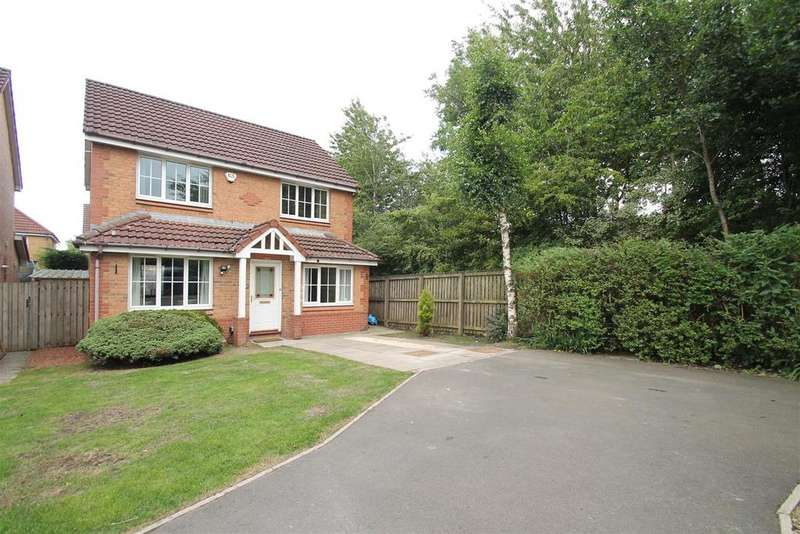 4 Bedrooms Detached House for sale in Badger Grove, Broxburn