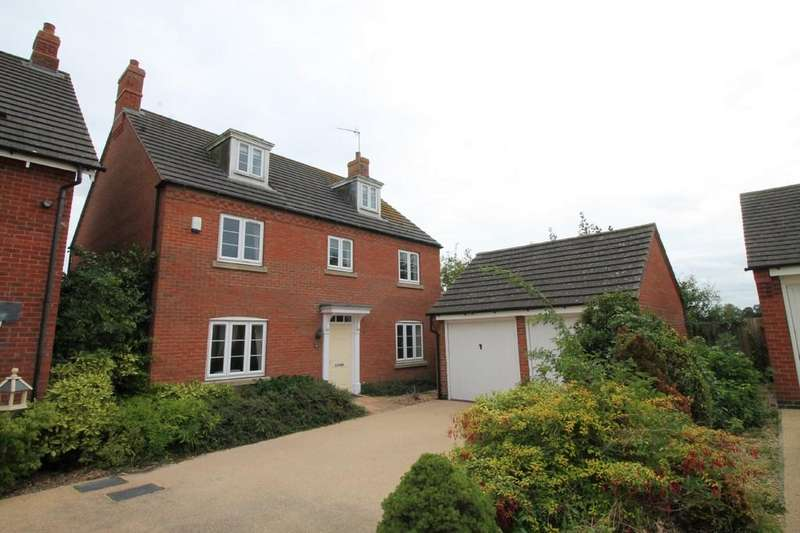 5 Bedrooms Detached House for sale in Folley Road, Kibworth Beauchamp