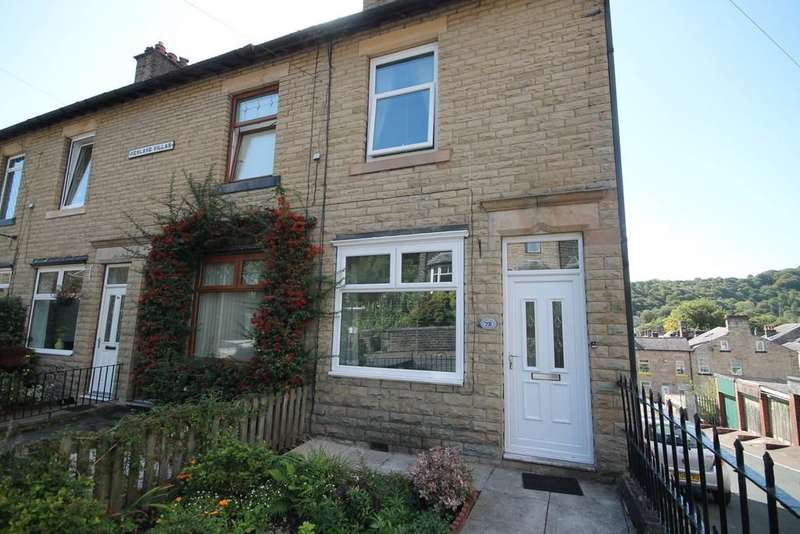 3 Bedrooms End Of Terrace House for sale in Stansfield Road, Todmorden